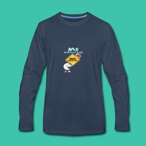 Me on Diet - Men's Premium Long Sleeve T-Shirt