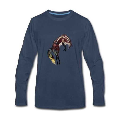 Ghost Fox - Men's Premium Long Sleeve T-Shirt