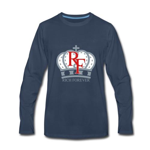 Rich forever Crown 3 5 - Men's Premium Long Sleeve T-Shirt