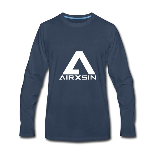 AIRXSIN Logo T - Men's Premium Long Sleeve T-Shirt