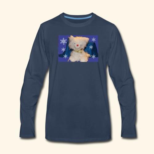 snow flakes - Men's Premium Long Sleeve T-Shirt
