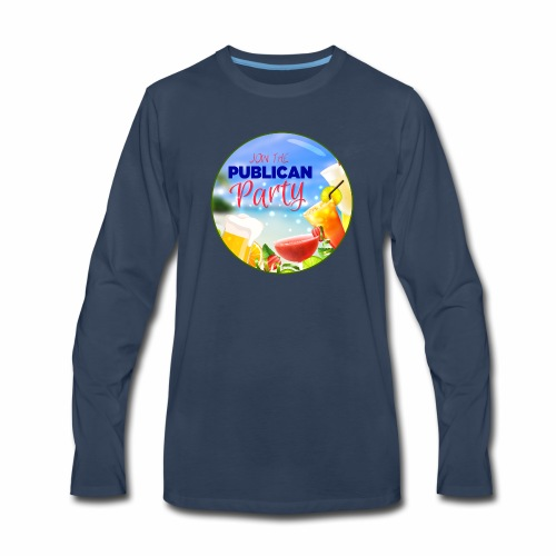 Join the Publican Party - Men's Premium Long Sleeve T-Shirt