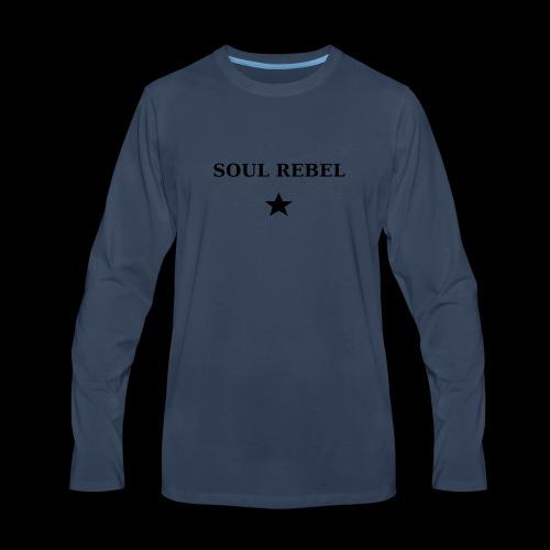 Soul Rebel - Men's Premium Long Sleeve T-Shirt