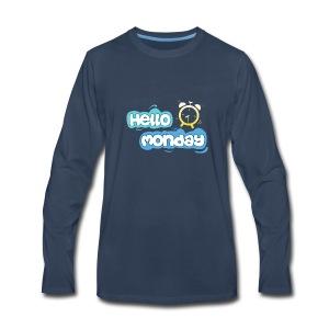 Hello Monday - Men's Premium Long Sleeve T-Shirt