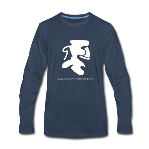 Comedy_Tragedy_Logo_MTG - Men's Premium Long Sleeve T-Shirt