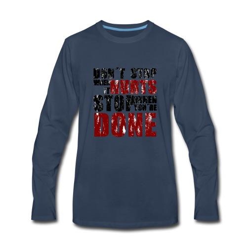 Gym motivation - Men's Premium Long Sleeve T-Shirt