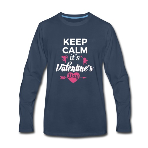 valentine 2017 - Men's Premium Long Sleeve T-Shirt