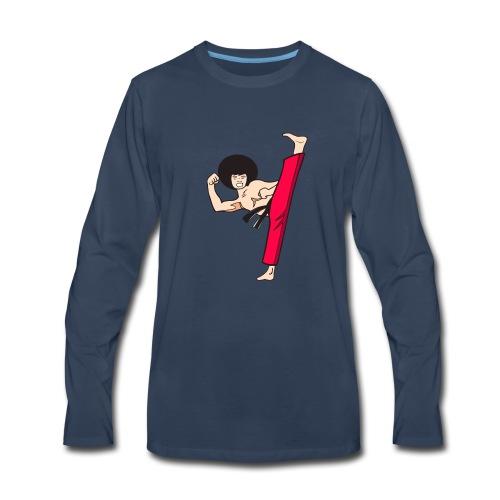 FUNKYkick - Men's Premium Long Sleeve T-Shirt