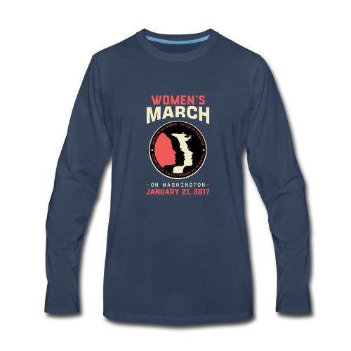 Women's March Washington - Men's Premium Long Sleeve T-Shirt