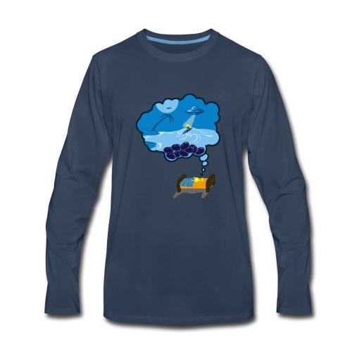 Strainge - Blue Dream Marijuana Strain shirt - Men's Premium Long Sleeve T-Shirt