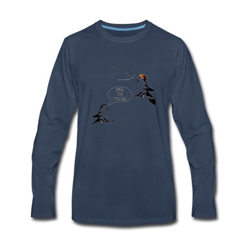 Donald Trump Tweeting T Shirt - Men's Premium Long Sleeve T-Shirt