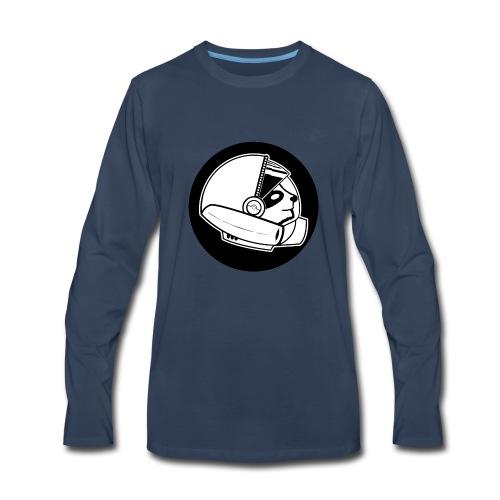 Space Sloth Logo - Men's Premium Long Sleeve T-Shirt