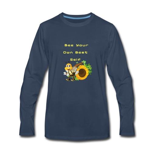 Bee Your Own Best Self - Men's Premium Long Sleeve T-Shirt
