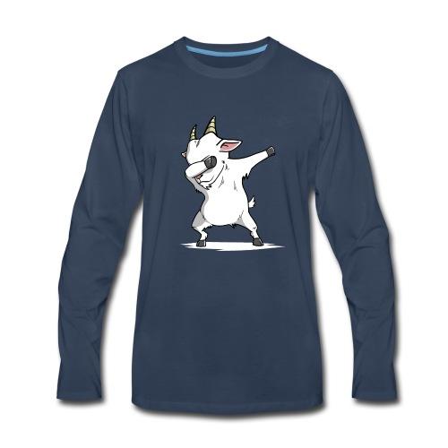 Funny Goat Dabbing - Men's Premium Long Sleeve T-Shirt