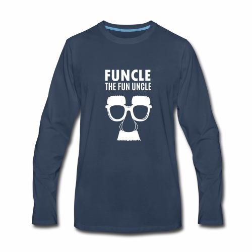 funcle - Men's Premium Long Sleeve T-Shirt