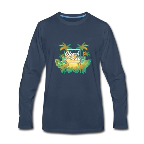 BeachPlease - Men's Premium Long Sleeve T-Shirt