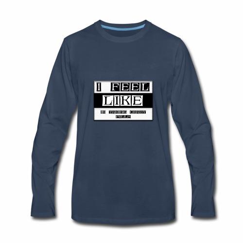 crazy pills! - Men's Premium Long Sleeve T-Shirt