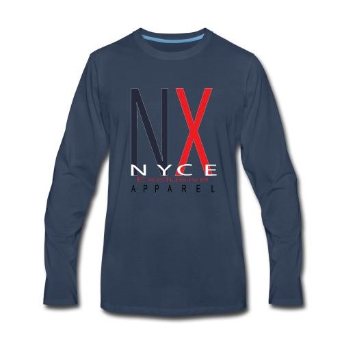 NYCE NX Tee 04 - Men's Premium Long Sleeve T-Shirt