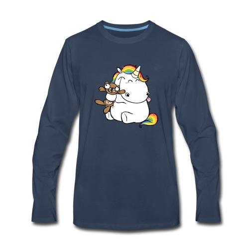 Happy Unicorn - Men's Premium Long Sleeve T-Shirt