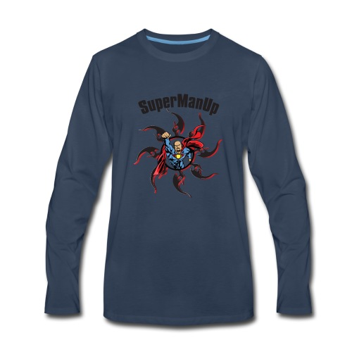 SuperManUP - Men's Premium Long Sleeve T-Shirt