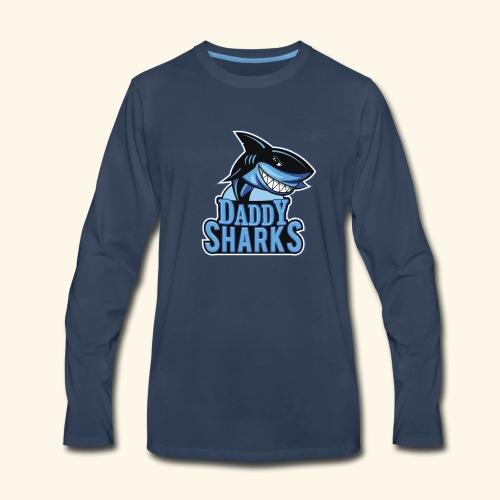 Doo Doo Doo Daddy Shark Doo Doo Doo - Men's Premium Long Sleeve T-Shirt