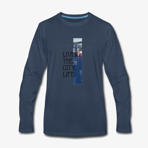 City Life - Men's Premium Long Sleeve T-Shirt
