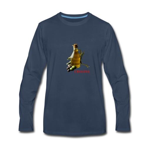 Croatian Gourmet 2 - Men's Premium Long Sleeve T-Shirt