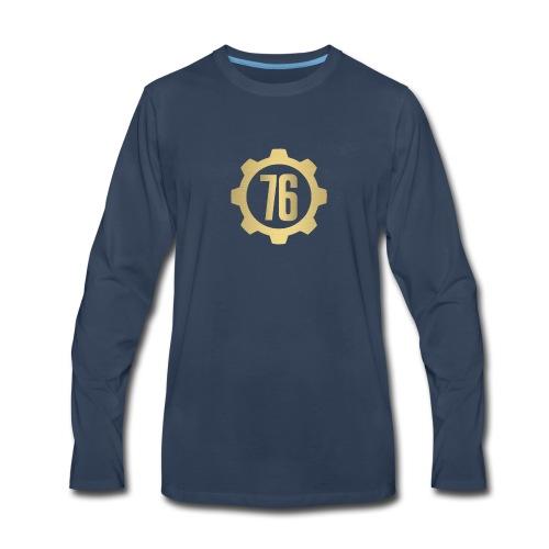 Vault 76 Dweller Shirt Design - Men's Premium Long Sleeve T-Shirt