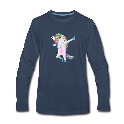 Unicorn Shirt - Funny Unicorn - Men's Premium Long Sleeve T-Shirt