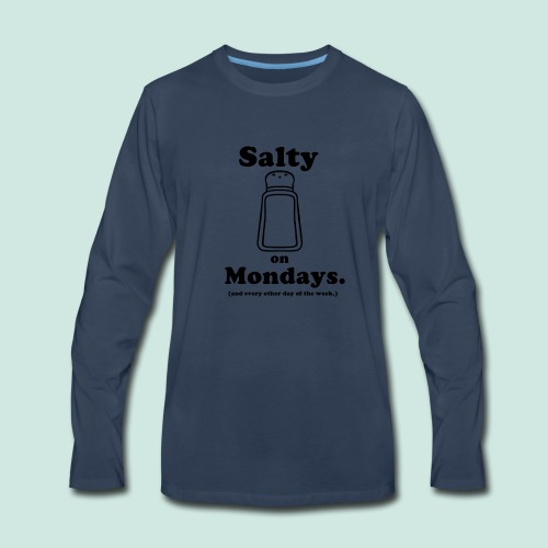 Salty Mondays - Men's Premium Long Sleeve T-Shirt