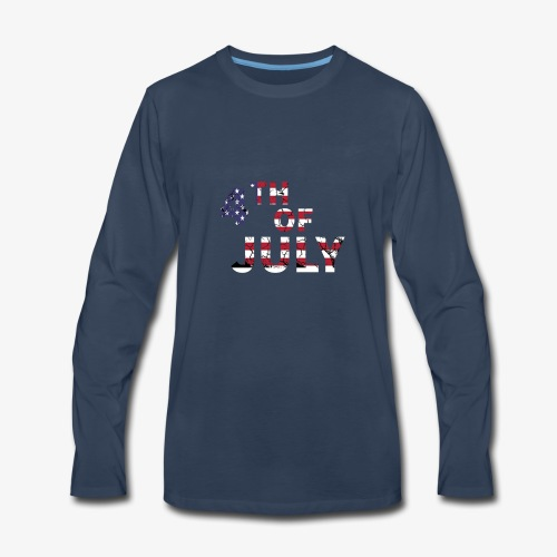 4TH of July - Men's Premium Long Sleeve T-Shirt