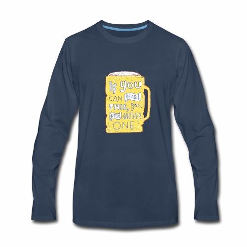 Beer Shirt - Men's Premium Long Sleeve T-Shirt