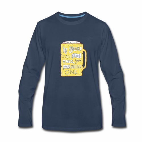 Beer Shirt - Men's Premium Long Sleeve T-Shirt