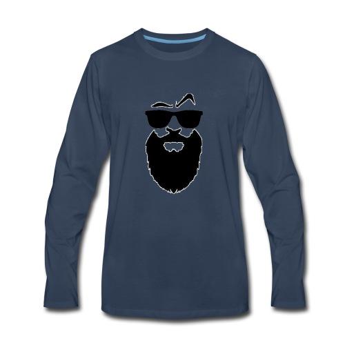 Men's shirt with scarves - Men's Premium Long Sleeve T-Shirt