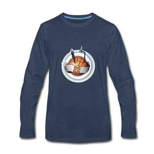 basket ball 22 - Men's Premium Long Sleeve T-Shirt