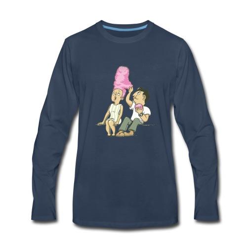 i love your hair - Men's Premium Long Sleeve T-Shirt