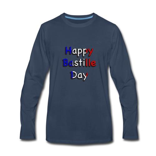 Happy Bastille Day - Men's Premium Long Sleeve T-Shirt