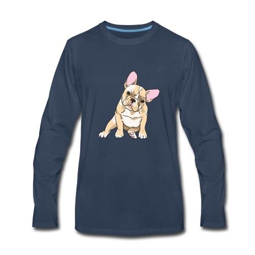 French bulldog - Men's Premium Long Sleeve T-Shirt