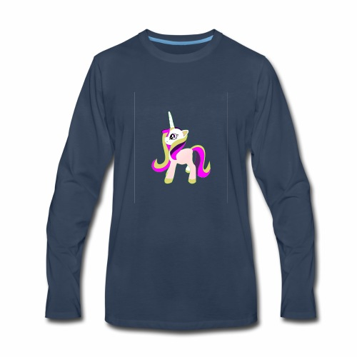 unicorn funny T-Shirt gift - Men's Premium Long Sleeve T-Shirt