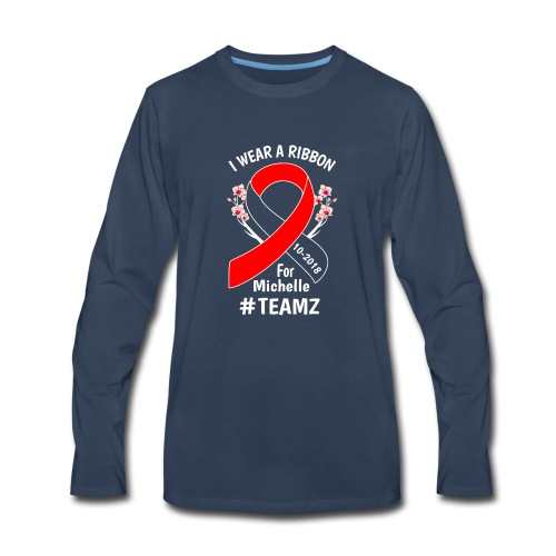 Michelle October BMT - Men's Premium Long Sleeve T-Shirt