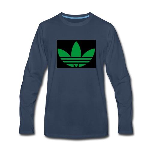 Small logo - Men's Premium Long Sleeve T-Shirt