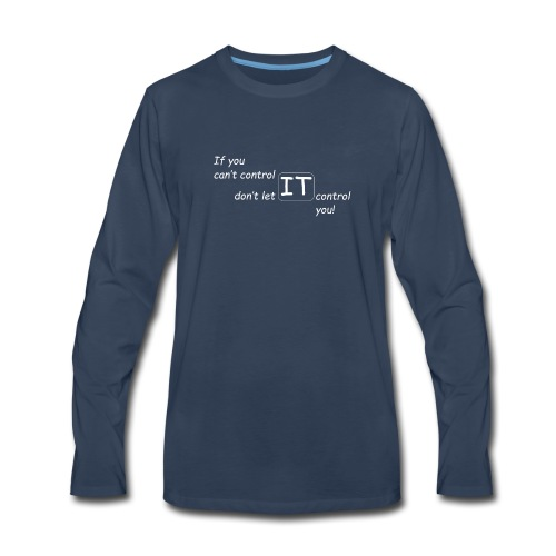 The Control Design Collection - Men's Premium Long Sleeve T-Shirt