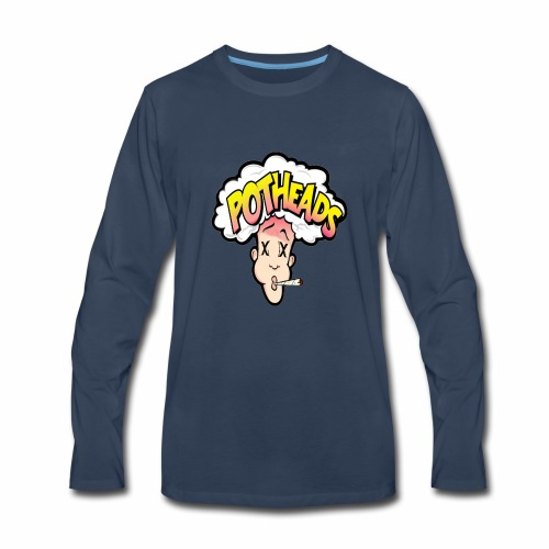Local 420 pothead tees - Men's Premium Long Sleeve T-Shirt