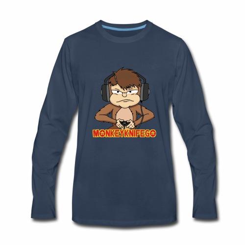 monkeyknifego - Men's Premium Long Sleeve T-Shirt