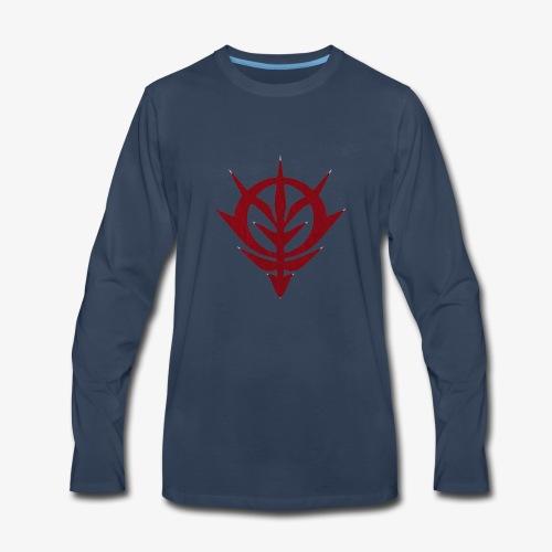 Mobile Suit Gundam Thunderbolt Zeon - Men's Premium Long Sleeve T-Shirt