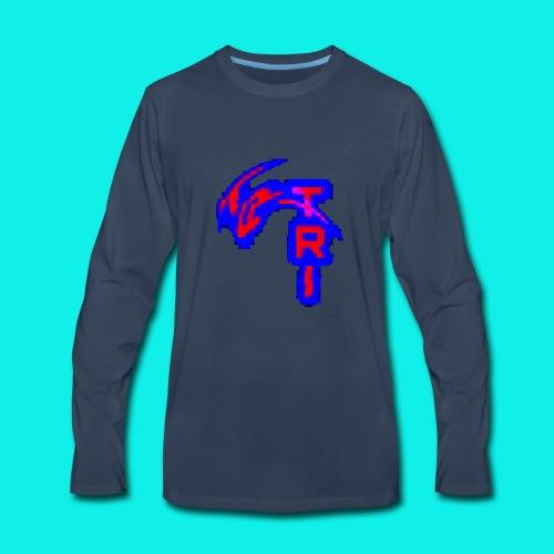 Glitch - Men's Premium Long Sleeve T-Shirt