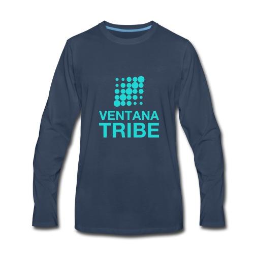Ventana Tribe Official Logo - Men's Premium Long Sleeve T-Shirt