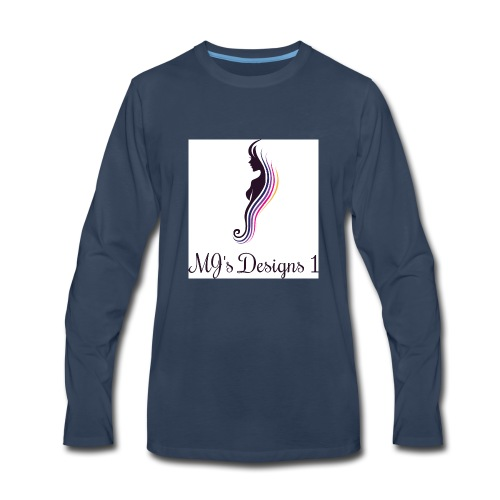 My Logo - Men's Premium Long Sleeve T-Shirt