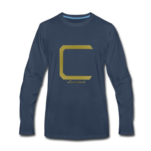 Cyberonic Limited Gold Apparel - Men's Premium Long Sleeve T-Shirt