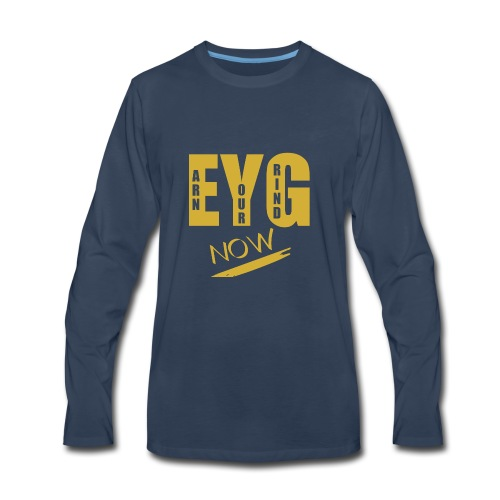 eygnowgo - Men's Premium Long Sleeve T-Shirt